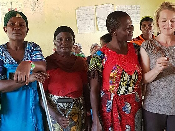 """Namnyaki Women Group"" Eine Massaifrauengruppe in Nduruma, Tansania"